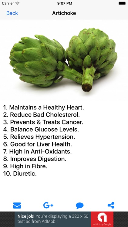 Health Facts of Fruits and Vegetables screenshot-3