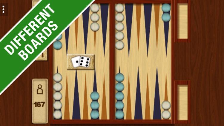 Backgammon Classic Board Game