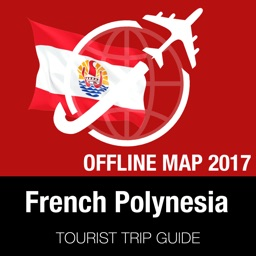 French Polynesia Tourist Guide + Offline Map