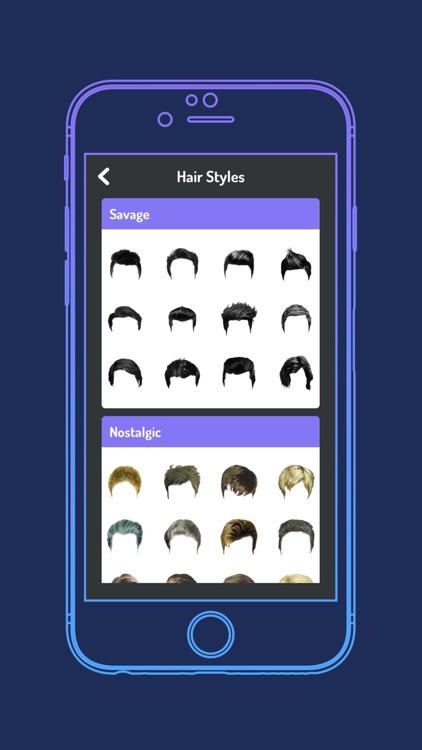 Mens Hairstyle Changer