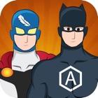 Crear su propio superhéroe justicia Man Dress-Up icon