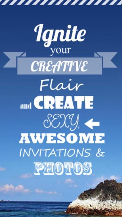 Graphic Design - Logo, Wedding Invites & Flyers screenshot-4