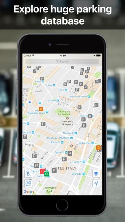Parkoviz: Find free parking place screenshot-3
