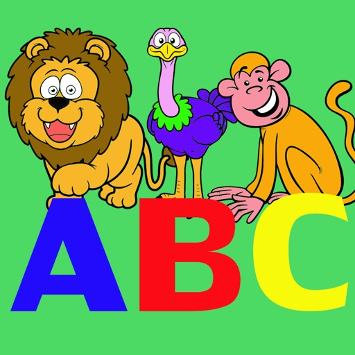Writing Letters ABC and Coloring Animals for Kids iOS App
