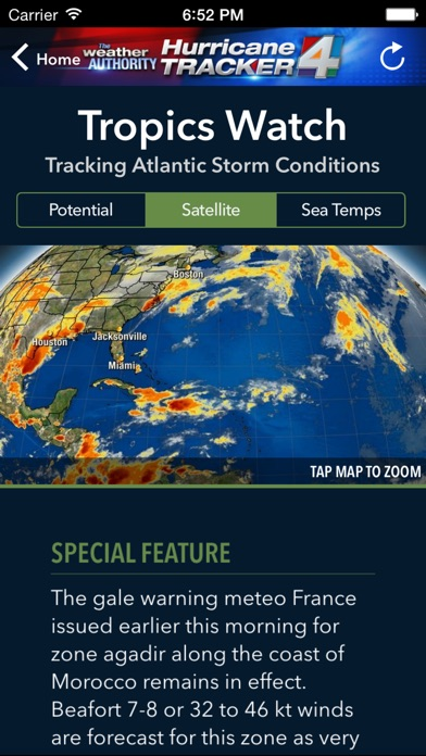 WJXT Hurricane Tracker for Windows