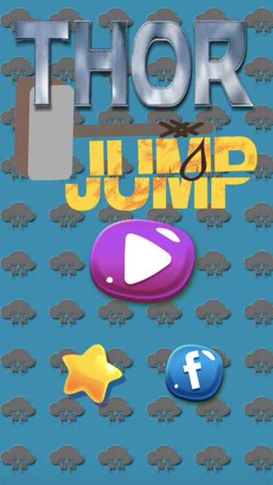 Jump for Thor vs  Paw Monster screenshot one