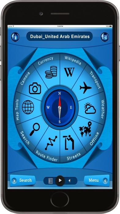Dubai UAE - Offline Maps navigation screenshot one