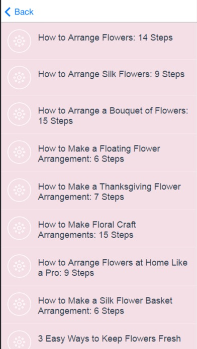 How to Flower Arranging - Tips & Tricks screenshot two