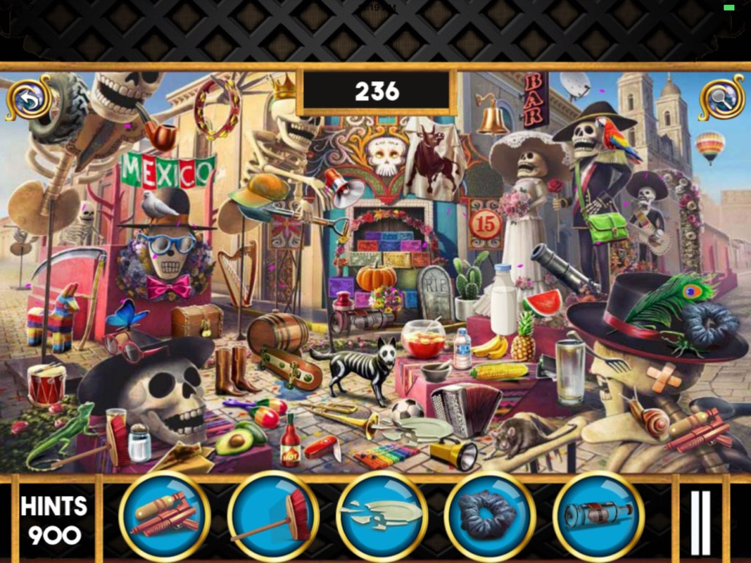 Hidden Objects:Paranormal City- Seek & Find Games - Online