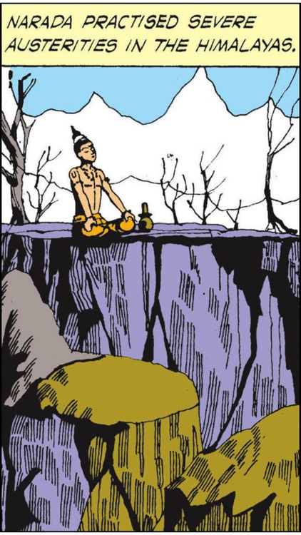 Tales of Narada - Amar Chitra Katha Comics screenshot-3
