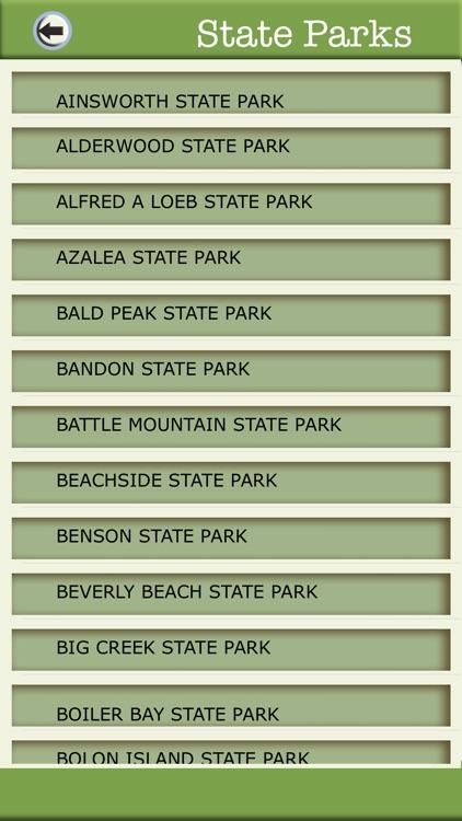 Oregon Camping And National Parks screenshot-3