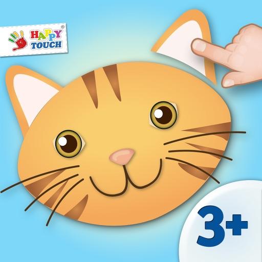 Animiertes Tier Puzzle für Kinder von HAPPYTOUCH®