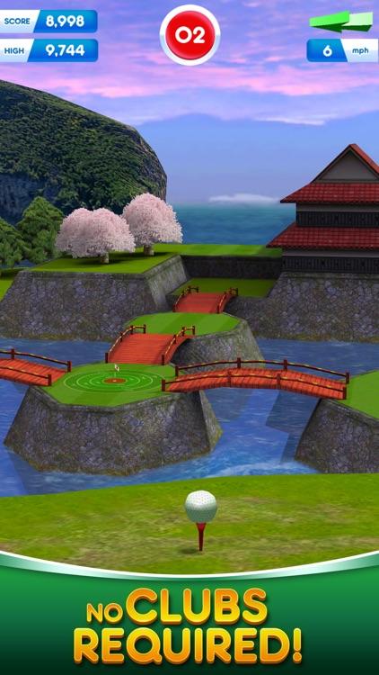 Flick Golf! Free screenshot-4