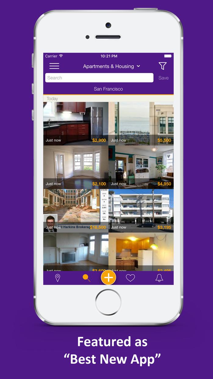 Qwilo Craigslist Mobile App Screenshot