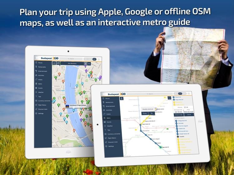 Budapest Travel Guide & offline city map screenshot-3