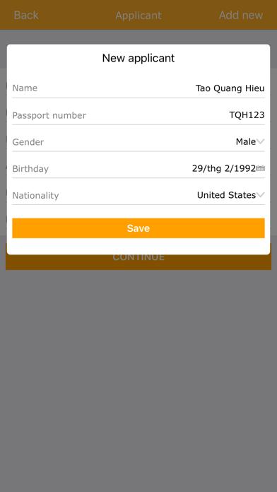 Vietnam Visa On Arrival screenshot four