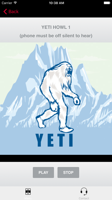 Yeti Calls screenshot one