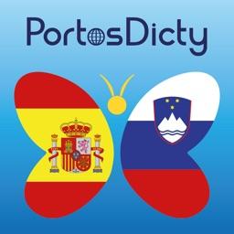 PortosDicty Diccionario Español Esloveno, Slovensko španski slovar