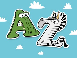 The web's most popular animal alphabet, the Alphabetimals, are now available as FREE iMessage stickers