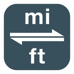 Miles to Feet | Mile to Foot | mi to ft