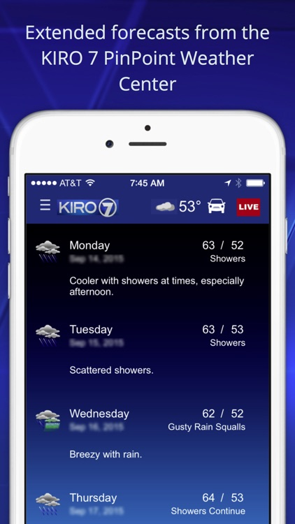 KIRO 7 -Seattle area news, weather, traffic&sports screenshot-4