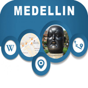 Medellin Colombia Offline City Map Navigation app review