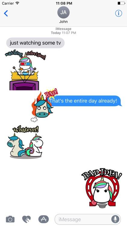 UNICORn Animated Stickers screenshot-3