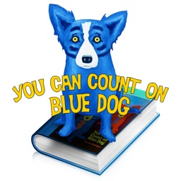 You Can Count On Blue Dog