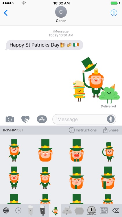 Irishmoji® - St Patrick's Day Emojis & Stickers screenshot-0