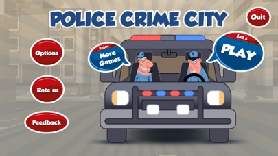 Police Car Driving - Chase in Cop Crime Block City Screenshot