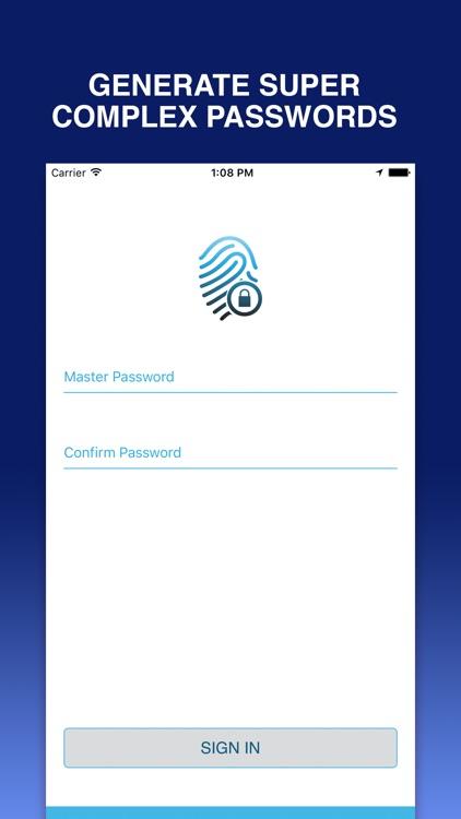 Password Lock to Login with Fingerprint Passcode