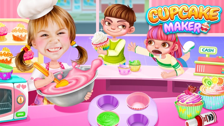 Cupcake Maker! Sweet Desserts screenshot-0