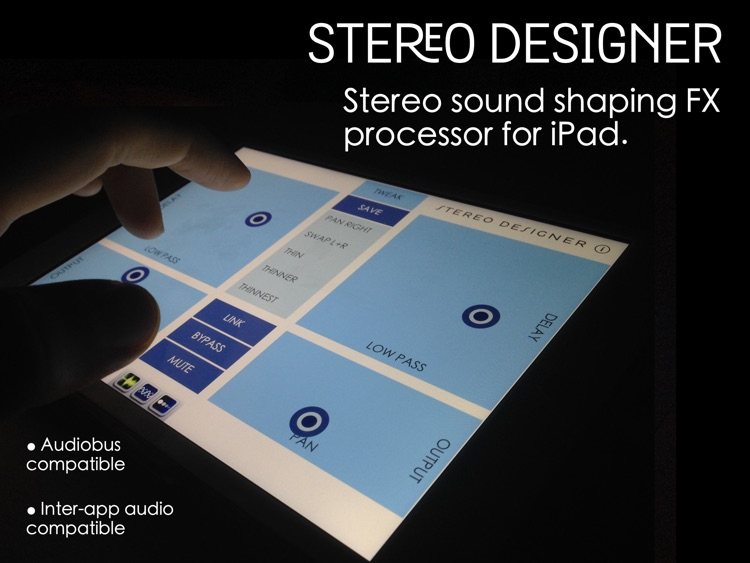 Stereo Designer - Stereo Shaping Processor