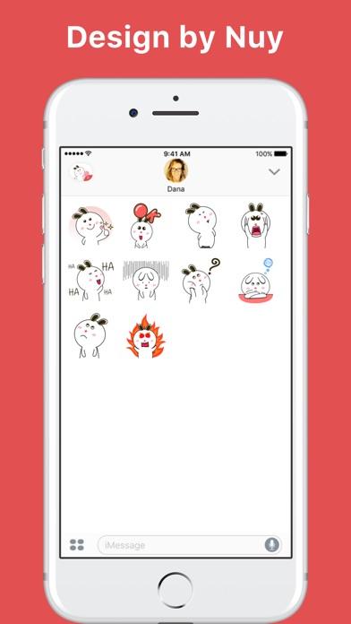 Sweet Rabbit Animated-Sticker von Nuy hohoScreenshot von 2