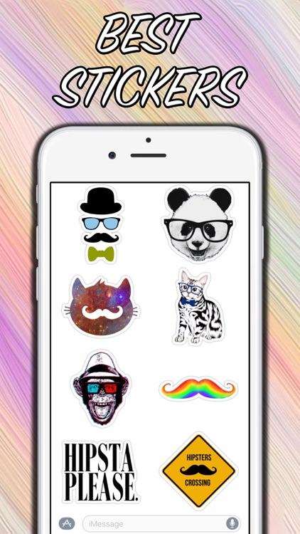 Hipster Live - New Stickers!