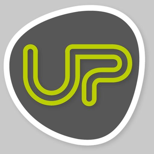 UP Fitness Mobile app logo