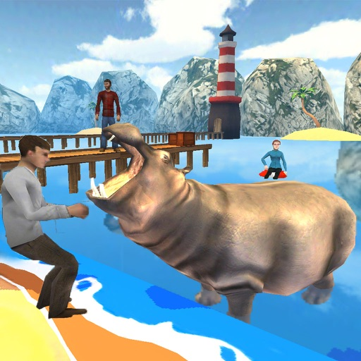 Hungry Hippo Attack Hippopotamus Evolution Games