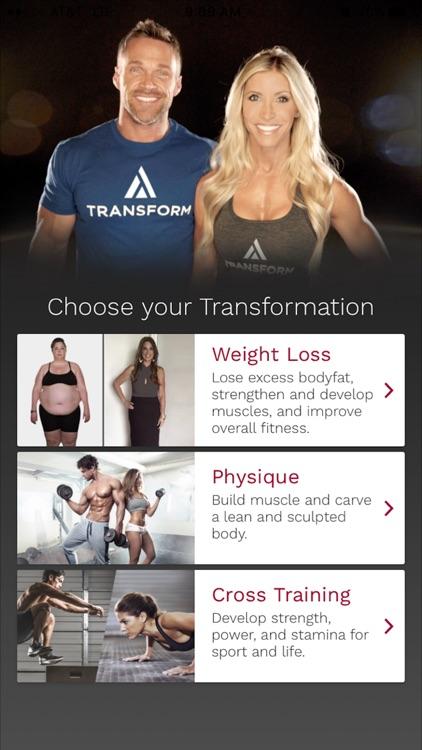 Transform with Chris and Heidi app image