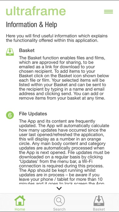 Ultraframe Installer App screenshot four