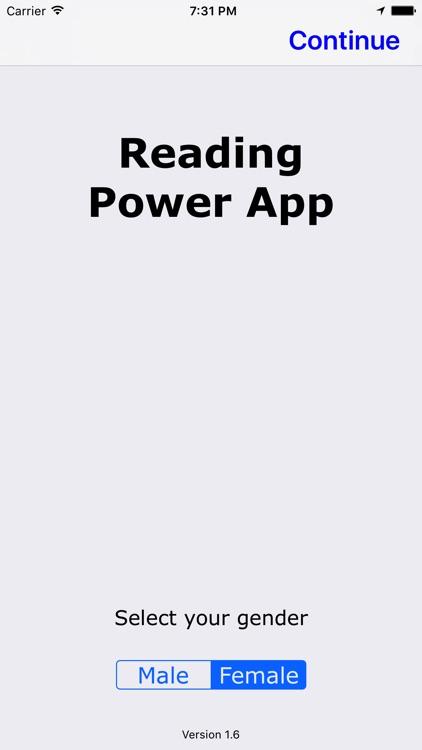 Reading Power App