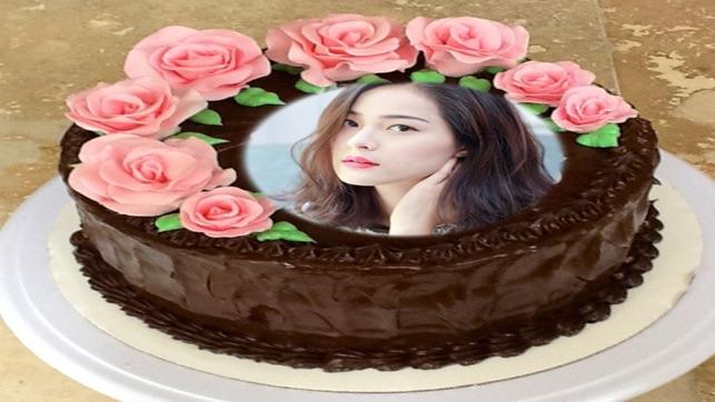 Name Photo On Happy Birthday Cake The App Store