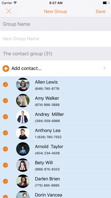 Simple Contacts Manager - Easy Contacts for iPhone screenshot-3