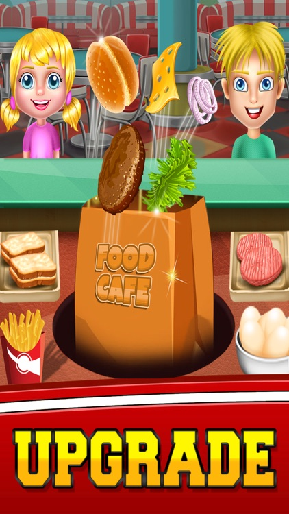 Food Cafe Kitchen Chef : Cooking Maker kids Games screenshot-3