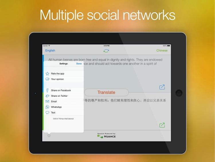 Easy Translation HD screenshot-4