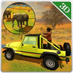 Wildlife Jeep Safari Simulator & Animal Hunter Sim
