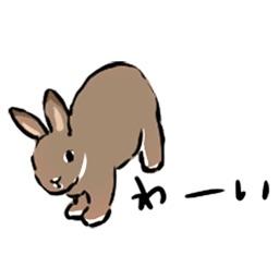 Schinako's アニメで元気なうさぎたち