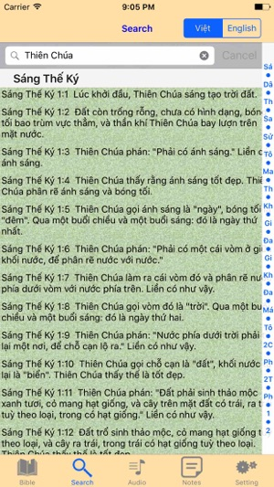 Catholic English Vietnamese Audio Bible on the App Store