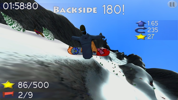 Big Mountain Snowboarding screenshot-1