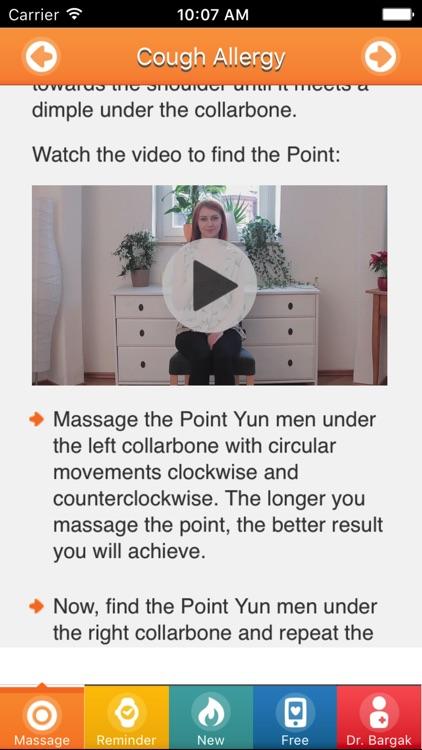 Allergy Acupressure Self-Treatment Massage Points!