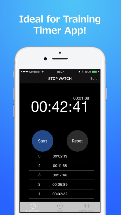 ThreeTimer - Stopwatch.Timer.Round timer screenshot-0